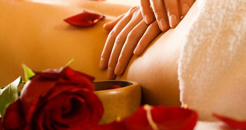 le massage et la musique de relaxation